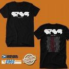 CONCERT 2019 STS9 USA TOUR BLACK TEE DATES CODE EP01