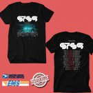 CONCERT 2019 STS9 USA TOUR BLACK TEE DATES CODE EP02