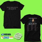 CONCERT 2019 TONY BRAXTON AS LONG AS I LIVE N.AMERICA TOUR BLACK TEE DATES CODE EP01