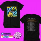 CONCERT 2019 GUSTER LOOK ALIVE N.AMERICA TOUR BLACK TEE DATES CODE EP01