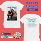 CONCERT 2019 RUSSEL DICKERSON & CARLY PEARCE THE WAY BACK TOUR WHITE TEE DATES CODE EP01