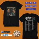 CONCERT 2019 BROTHERS OSBORNE N.AMERICA TOUR BLACK TEE DATES CODE EP01