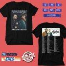 CONCERT 2019 BROTHERS OSBORNE N.AMERICA TOUR BLACK TEE DATES CODE EP02