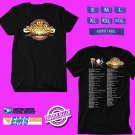 CONCERT 2019 THE OAK RIDGE BOYS SHINE THE LIGHT USA TOUR BLACK TEE DATES CODE EP01