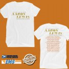 CONCERT 2019 AARON LEWIS THE STATE I'M IN TOUR WHITE TEE DATES CODE EP01