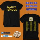 CONCERT 2019 SWITCHFOOT NATIVE TONGUE TOUR BLACK TEE DATES CODE EP01