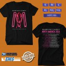 CONCERT 2019 MARIAH CAREY CAUTION TOUR BLACK TEE DATES CODE EP03