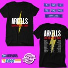 CONCERT 2019 ARKELLS RALLY CRY USA TOUR BLACK TEE DATES CODE EP01