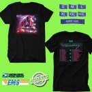 CONCERT 2019 MUSE SIMULATION THEORY TOUR BLACK TEE DATES CODE EP01