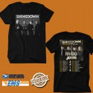 CONCERT 2019 SHINEDOWN ATTENTION ATTENTION TOUR BLACK TEE DATES CODE EP01