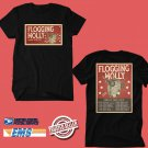 CONCERT 2019 FLOGGING MOLLY EUROPE TOUR BLACK TEE DATES CODE EP02