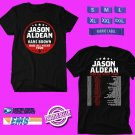 CONCERT 2019 JASON ALDEAN RIDE ALL NIGHT TOUR BLACK TEE DATES CODE EP02