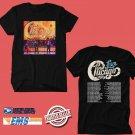 CONCERT 2019 CHICAGO BAND USA TOUR BLACK TEE DATES CODE EP02
