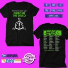 CONCERT 2019 PANIC AT THE DISCO PRAY FOR THE WICKED SPRING TOUR BLACK TEE DATES CODE EP02
