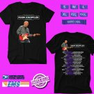 CONCERT 2019 AN EVENING WITH MARK KNOPFLER TOUR BLACK TEE DATES CODE EP01