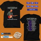 CONCERT 2019 AN EVENING WITH MARK KNOPFLER TOUR BLACK TEE DATES CODE EP02