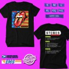CONCERT 2019 ROLLING STONES NO FILTER USA TOUR BLACK TEE DATES CODE EP01