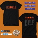 CONCERT 2019 BROODS DONT FEED THE POP MONSTER TOUR BLACK TEE DATES CODE EP01