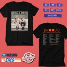 CONCERT 2019 BROODS DONT FEED THE POP MONSTER TOUR BLACK TEE DATES CODE EP02