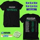 CONCERT 2019 AVANTASIA MOONGLOW WORLD TOUR BLACK TEE DATES CODE EP01