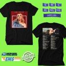 CONCERT 2019 SABRINA CARPENTER THE SINGULAR TOUR BLACK TEE DATES CODE EP02