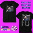 CONCERT 2019 BILLIE EILISH WHEN WE ALL FALL ASLEEP TOUR BLACK TEE DATES CODE EP01