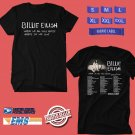 CONCERT 2019 BILLIE EILISH WHEN WE ALL FALL ASLEEP TOUR BLACK TEE DATES CODE EP03