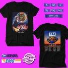 CONCERT 2019 JEFF LYNNE'S ELO SUMMER TOUR BLACK TEE DATES CODE EP01