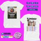 CONCERT 2019 THE CHAINSMOKERS A WORLD WAR JOY TOUR WHITE TEE DATES CODE EP01
