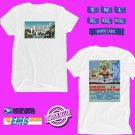 CONCERT 2019 BROCCOLI CITY FESTIVAL WHITE TEE LINEUP CODE EP01