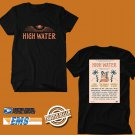 CONCERT 2019 HIGH WATER MUSIC FESTIVAL BLACK TEE LINEUP CODE EP01