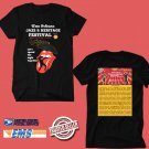 CONCERT 2019 NEW ORLEANS JAZZ AND HERITAGE FESTIVAL BLACK TEE LINEUP CODE EP02
