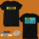 CONCERT 2019 SABROSO CRAFT BEER AND TACO FESTIVAL BLACK TEE LINEUP CODE EP01