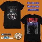 CONCERT 2019 GODSMACK AND VOLTBEAT TOUR BLACK TEE DATES CODE EP02