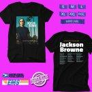 CONCERT 2019 JACKSON BROWNE ACOUSTIC SOLO TOUR BLACK TEE DATES CODE EP02