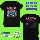 CONCERT 2019 BLACKPINK IN YOUR AREA:NORTH AMERICA TOUR BLACK TEE DATES CODE EP02