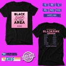 CONCERT 2019 BLACKPINK IN YOUR AREA:NORTH AMERICA TOUR BLACK TEE DATES CODE EP03