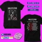 CONCERT 2019 HALESTORM AND PALAYE ROYALE  SUMMER TOUR BLACK TEE DATES CODE EP01
