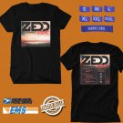 CONCERT 2019 ZEDD THE CALIFORNIA TOUR BLACK TEE DATES CODE EP03