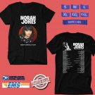 CONCERT 2019 NORAH JONES SUMMER TOUR BLACK TEE DATES CODE EP01