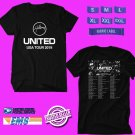 CONCERT 2019 HILLSONG UNITED USA TOUR BLACK TEE DATES CODE EP01