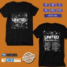 CONCERT 2019 HILLSONG UNITED USA TOUR BLACK TEE DATES CODE EP02