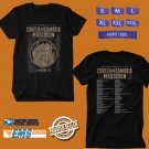CONCERT 2019 COHEED AND CAMBRIA THE UNHEAVENLY SKYE TOUR BLACK TEE DATES CODE EP01
