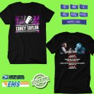 CONCERT 2019 COREY TAYLOR SOLO USA TOUR BLACK TEE DATES CODE EP01