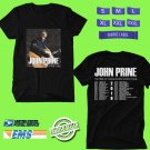 CONCERT 2019 JOHN PRINE THE TREE OF FORGIVENESS WORLD TOUR BLACK TEE DATES CODE EP01