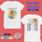 CONCERT 2019 THOMAS RHETT VERY HOT SUMMER TOUR WHITE TEE DATES CODE EP01