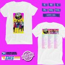 CONCERT 2019 KIDZ BOP WORLD TOUR WHITE TEE DATES CODE EP01