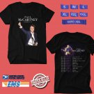 CONCERT 2019 PAUL McCARTNEY FRESHEN UP N.AMERICA TOUR BLACK TEE DATES CODE EP02