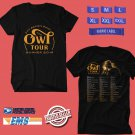 CONCERT 2019 ZAC BROWN BAND THE OWL SUMMER TOUR BLACK TEE DATES CODE EP02