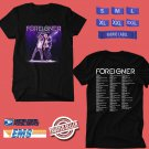 CONCERT 2019 FOREIGNER LIVE BLACK TEE DATES CODE EP01